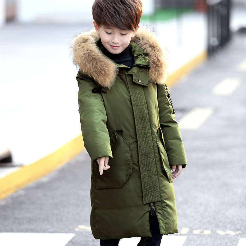 0c5d586ef Dropwow -30 Degree High Quality Boy s clothing Children winter Down ...