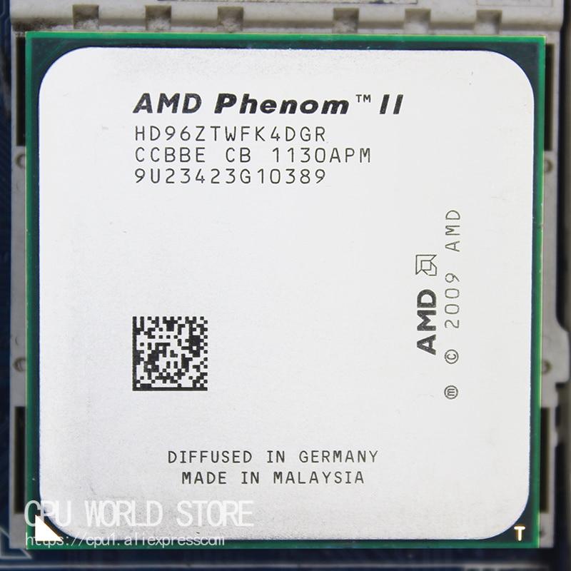 AMD Phenom II X4 960T Quad-Core CPU Processor 3.0Ghz/ 6M /95W Socket AM3 AM2+ 938 Pin Working