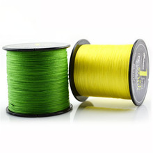 500M PE Braided Fishing Line 4 stands 8LB to 60LB Multifilament Fishing Line Seaknight brand 6 Colors