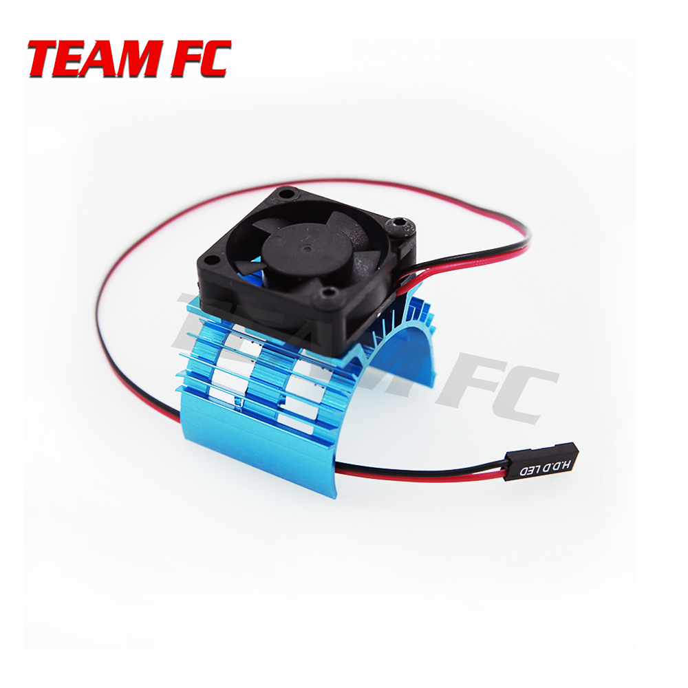 1pcs 1:10 RC <font><b>540</b></font> Electric <font><b>motor</b></font> Heat Sink Cooling <font><b>Fan</b></font> Set RC Car Parts for 1/10 HSP RC Crawler Car <font><b>540</b></font>/550 3650/3660 <font><b>Motor</b></font> S263 image
