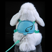 New Small Pet Traction Rope Hamster Leashes Guinea pig Harness Color Random Chinchilla Pets Chest Straps