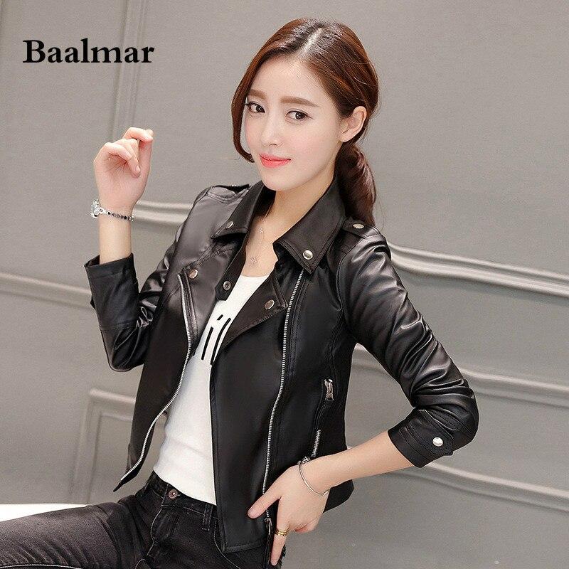2d443964d8d6 Spring 2017 leather jacket Women Korean Fashion Hasp leather Coat Brand Big  Size Shorts Faux Leather Jackets Autumn 3XL