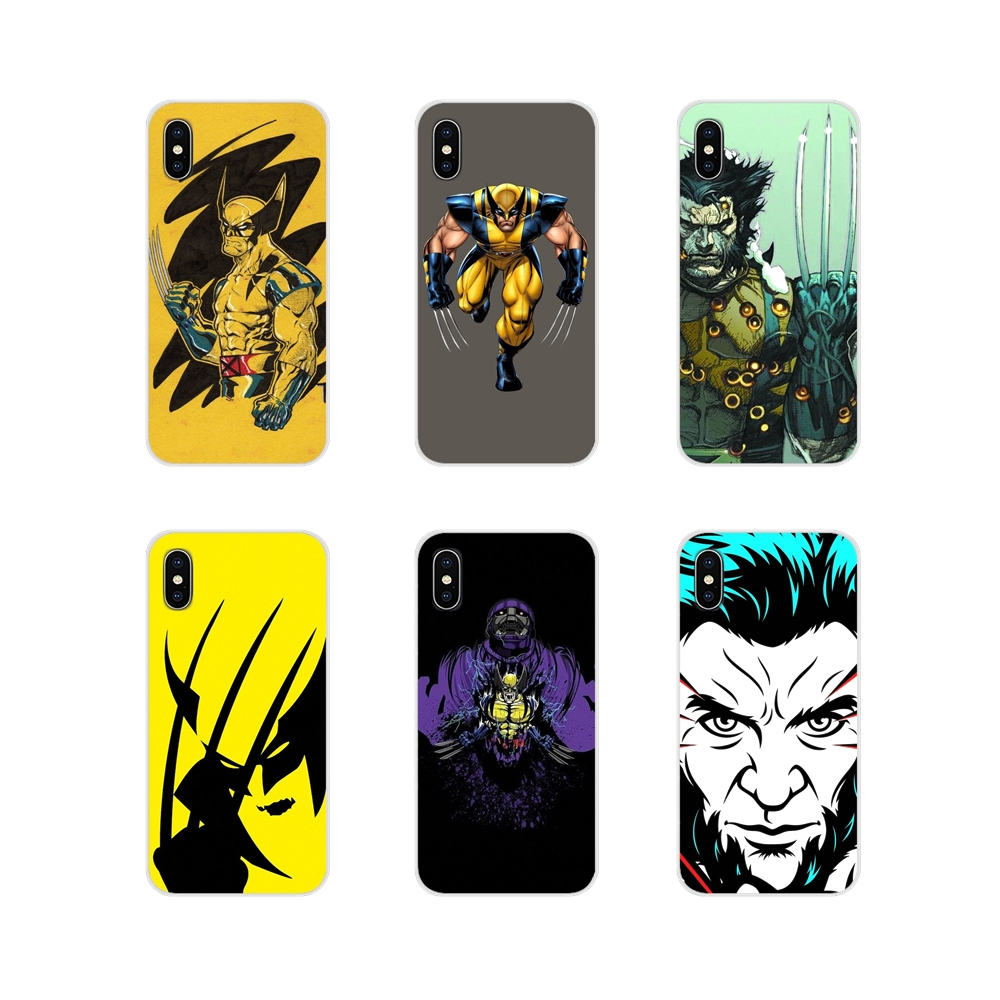 TPU Transparent Shell Cover Comics X-Men Wolverine For LG G3 G4 Mini G5 G6 G7 Q6 Q7 Q8 Q9 V10 V20 V30 X Power 2 3 K10 K4 K8 2017 image