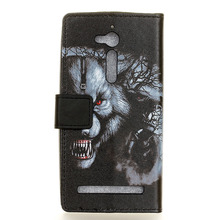 For Asus Zenfone Go ZB500KL 5.0inch Case Luxury Painted Cartoon Magnetic Flip Wallet PU Leather Cover For Asus ZB500KL Case Capa