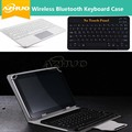 Caso teclado sem fio bluetooth para samsung galaxy tab a 9.7 t555 t550 9.7 polegadas tablet pc, t555 t550 + caso presente