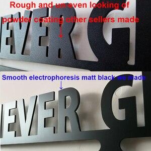 Image 4 - No Limits Never Give Up Marathon metal medal hanger