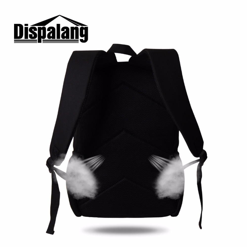 b0e6237e64d0 Dispalang daily cool backpack boys cute cat Print School Backpacks for girl  Child Cool Animal book bag Travel Bag large Rucksack-in Backpacks from  Luggage ...