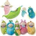 Детские Bedtime Игрушки фаршированные Девушка Мальчики Спальный мешок Фасоли дети Детские Плюшевые Игрушки Для Детей Милый мультфильм Чучела Растений кукла
