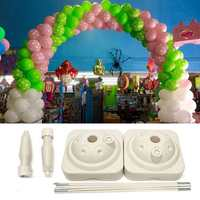 Multifunctional 4M Large Balloon Arch Stand Base Pot Kit Clip Connector Adjustable Wedding Party Support DIY Decoration Supplies