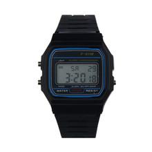 2018 nowy silikonowy pasek kauczukowy retro Vintage cyfrowy zegarek wojskowy Sport chłopcy dziewczęta mężczyźni zegar zegarki na rękę Relogio męski tanie tanio Digital Wristwatches Placu TANGNADE ER03652 35mm No waterproof Papieru Akrylowe Silikonowe Klamra 21cm 17mm Plastikowe Brak