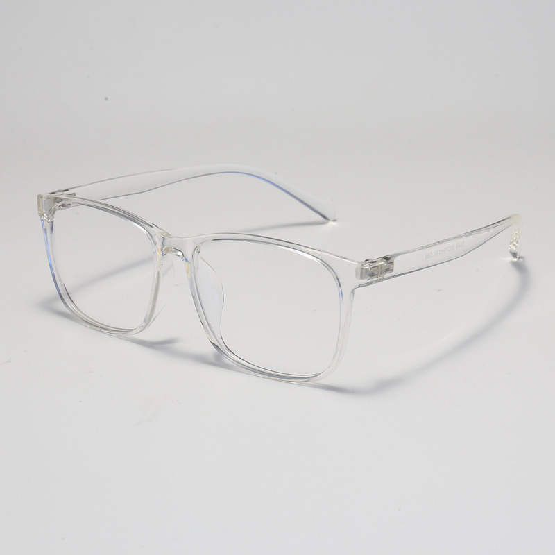 New TR frame transparent large frame square optical frame achromatic retro frame can be matched with myopia 3149 in Men 39 s Eyewear Frames from Apparel Accessories
