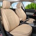 Cuero de LA PU cubre para Renault Captur asiento cubiertas y ayudas personalizado cubierta de cojines de asiento de auto cubierta de asiento de coche con reposacabezas