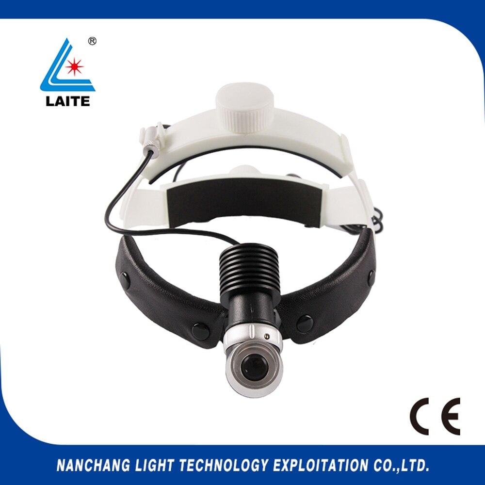 10w led headlight operation LED headlamp for dental surgery with aluminum box