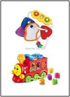 Segurança Do Bebê Chocalhos Chocalho Brinquedo Bebe Eletronicos Educativos Trem Música Brinquedos Do Bebê Frete Grátis Huile Brinquedos 306E & 8810