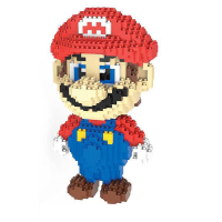 Kids Education Toys Mini Nano block For Kids' Special Gift Cartoon Figure Super Mario Model Building Blocks Toy 31cm 4500pcs