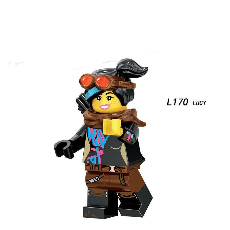 Single Sale Compatible LegoINGlys Cartoon Big Movie 2 TEMPO SHARKIRA WARRIOR LUCY Figure Bricks Building Blocks Toys Boys Gift