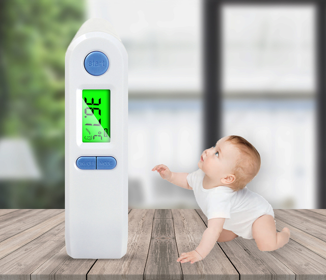 ELERA Thermometer Digital Fever Body Care Temperature Infrared Ear Forehead Thermometer Baby & Adult 2