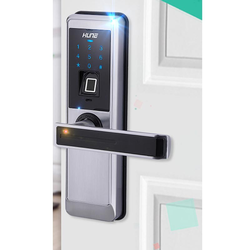 HFSECURITY Fingerprint Door Lock Electronic Locks For Doors Biometric Door Lock USB Port Emergency Power supply-in Fingerprint Recognition Device from ...  sc 1 st  AliExpress.com & HFSECURITY Fingerprint Door Lock Electronic Locks For Doors ...