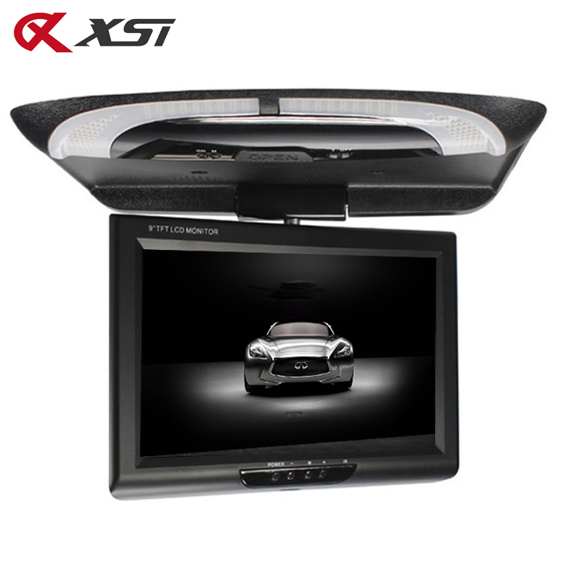 Xst 9 Inch 800 480 Screen Car Roof Mount Lcd Color Monitor