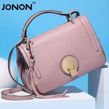 Jonon Women Leather Handbags Fashion Messenger Bag Famous Brands Hot Sale Totes Women Crossbody  Bags High Quality Flap Bolsas