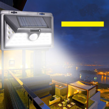 Home Garden 8 LED Solar Power Light Optically controlled Sensor Wall Light Garden Step Stair Deck Lights Balcony Fence Lamp