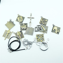 Anime Fate stay night Zero Necklace Keychain 12pcs Pendant Jewelry