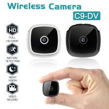 C9 DV HD 1080P Mini Wireless Camera Security Camcorder Night Vision Video TF Card USB 400mAh Battery DV DVR IP Small Cam