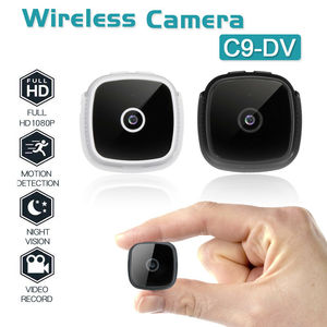 Image 1 - C9 DV HD 1080P מיני אלחוטי מצלמה אבטחת מצלמת וידאו ראיית לילה וידאו TF כרטיס USB 400mAh סוללה DV DVR IP קטן מצלמת