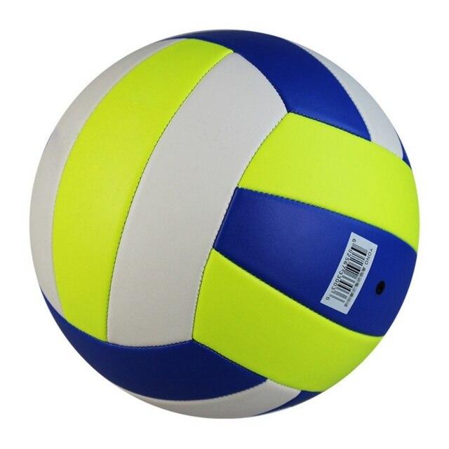 2018 de alta calidad de cuero suave pelota de voleibol tamaño 5 alta calidad voleibol gratis con aguja