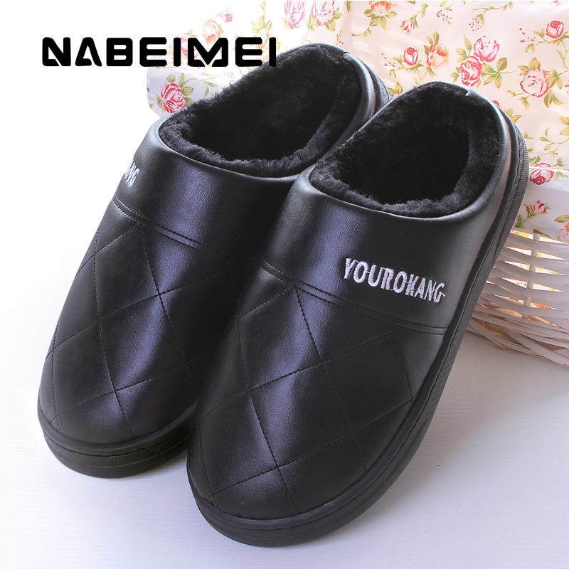Women shoes home slippers super color plus size 36-41 female funny slippers solid short plush woman indoor slipper 2017 totoro plush slippers with leaf pantoufle femme women shoes woman house animal warm big animal woman funny adult slippers
