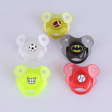 1 Piece Lovely Baby Food Grade Silicone Pacifier Nipple Pacifier Soother Toddler Nipples Teether Baby Pacifier Care P15