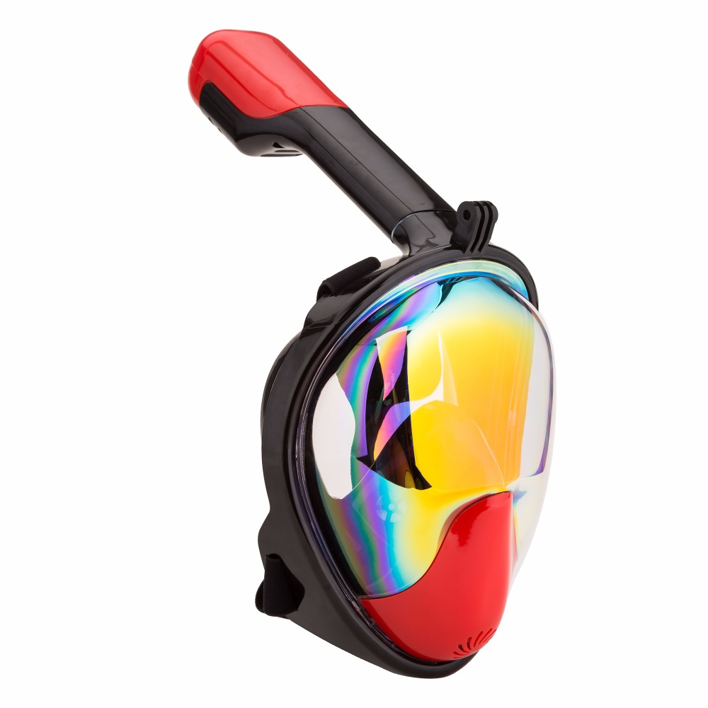 Full Face Snorkeling Mask 180 Degree Wide View Scuba Underwater Detachable Diving Mask Swimming Snorkel Anti Fog Snorkeling