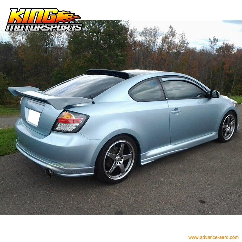 Fit Scion 05 06 07 08 09 10 Tc Coupe Pu Rear Bumper Lip