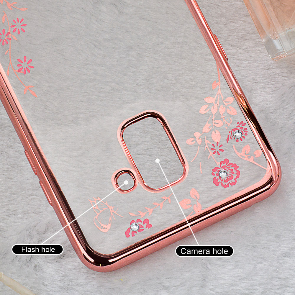 For-Samsung-Galaxy-A8-Plus-2018-Case-Plating-Secret-Garden-Luxury-Diamond-Tpu-Case-for-A8 (5)