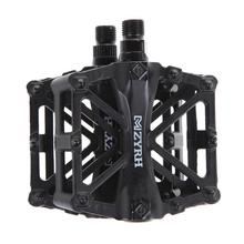 Mountain Bike Pedal MTB Pedals BMX Bicycle Flat Aluminum alloy Pedal Nylon Multi-Colors MTB Cycling Sport Ultralight Accessories 1 pair bicycle pedal mtb aluminium alloy mountain bike bicycle cycling 9 16 pedals flat black bike pedal bicycle parts