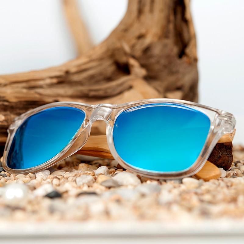 Image 3 - BOBO BIRD Bamboo Men Sunglasses Polarized UV 400 Retro Women Eyewear lunettes de soleil hommes polarissunglasses withbamboo polarized sunglassesbamboo sunglasses -