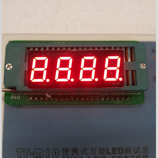 100pc Common Anode/Common Cathode 0.4 Inch Digital Tube 4 Bits Digital Tube Led Display 0.36inches Red Digital Tube