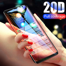 20D Full Curved Protective Glass For Samsung Galaxy J4 J6 A8 Plus A7 2018 Tempered Screen Protector For M20 A30 50 70 A8S Flim protect flim for 2711p t7c6d6 panelview plus 700