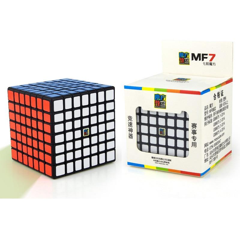 Moyu MofangJiaoshi MF7 MF7S Cube Speed 7Layers Stickerless Puzzle Cubes For Children cubo 7x7 Learning EducationToys