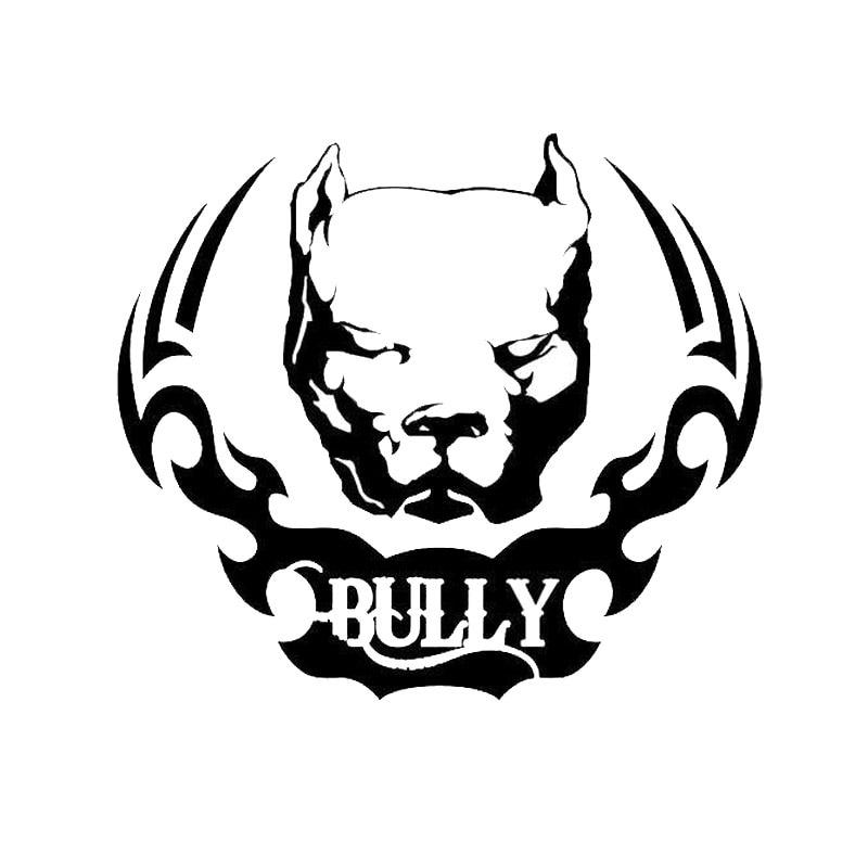 15,2*13,3 см Pit Bull виниловая наклейка с принтом собаки Смешные животные индивидуальная наклейка на машину, Мотоцикл аксессуары C6-1484