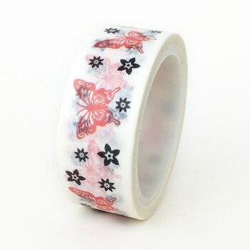 20ピース/セット蝶和紙テープバレンタインデーDIY装飾手DIY紙和紙テープメーカー卸売1