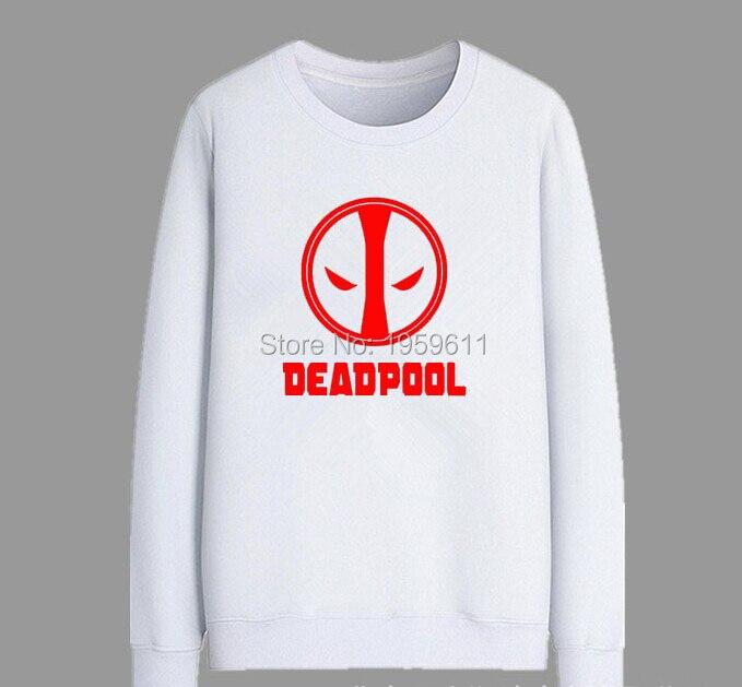 New Arrive Women Men Fashion 3D Sweatshirt Cartoon Deadpool Hoodies Pullovers Autumn Long Sleeve Outerwear