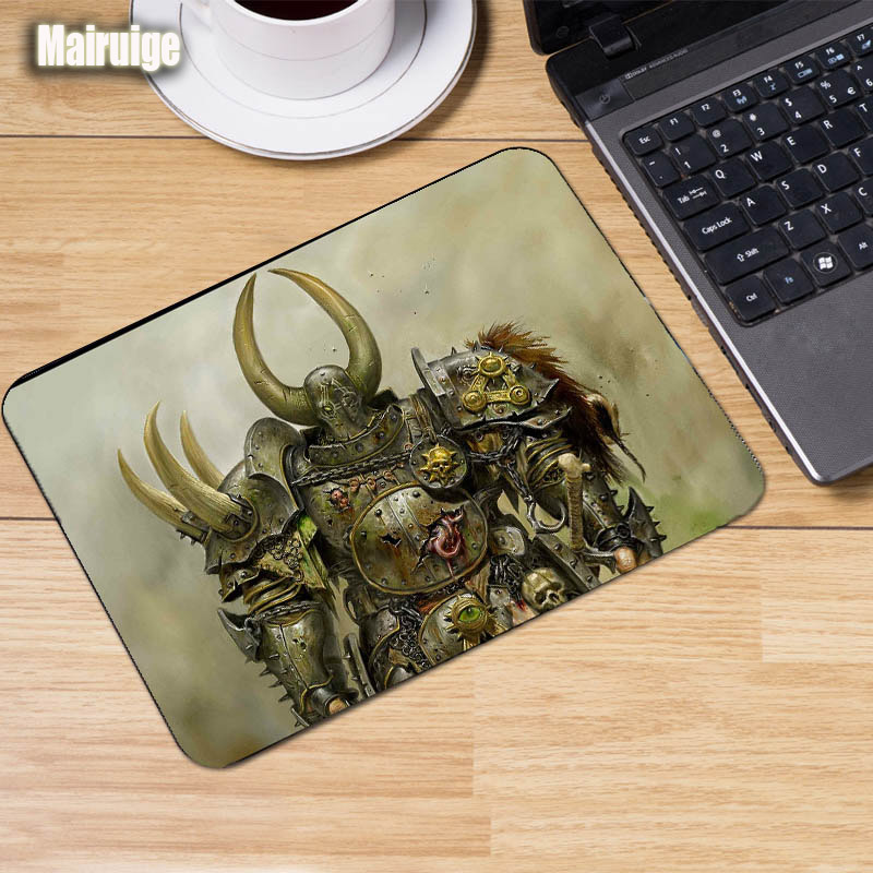 Mairuige Mousepad Science Fiction Game Mouse Pad War Hammer 40K Gaming Mousepads Computer Pc Rubber Mousemat Lol Dota2 Game Pad