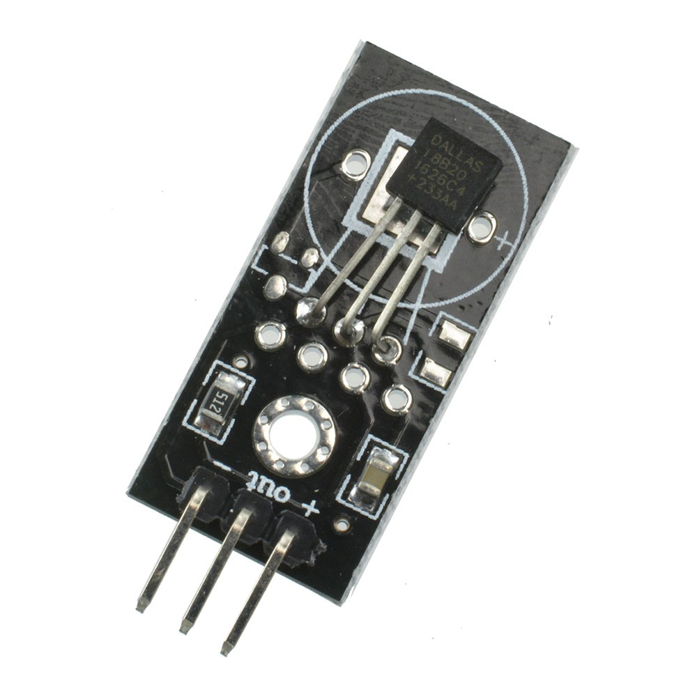B Blesiya 5V Waterproof DS18B20 Digital Temperature Sensor Module For Arduino ﹣55~﹢125 ℃ Measuring Tool