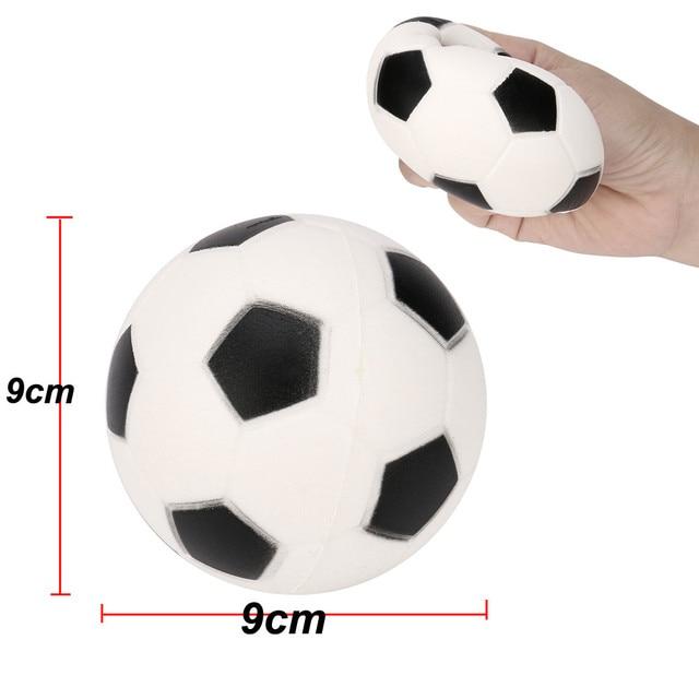 Football Squishy Slow Rising Cream Scented Decompression Kid Toys Gift squash toys smooshy mushy squish sensory toys