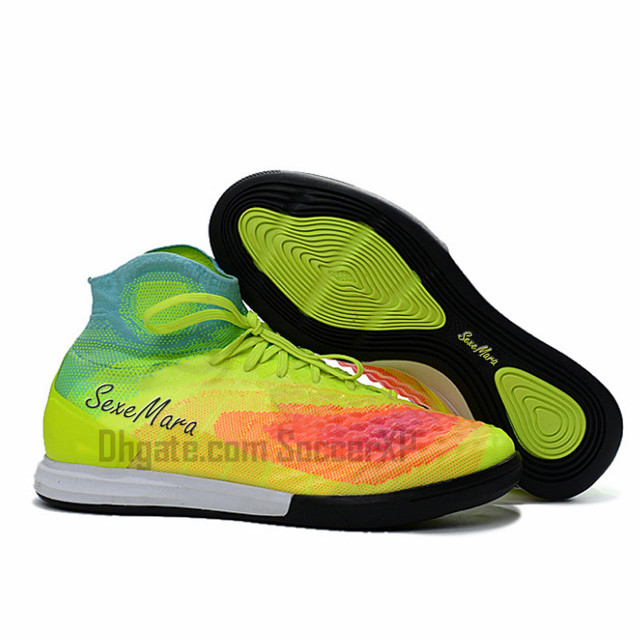 2018 Indoor Soccer Shoes Men Acc Waterproof Ic Soccer Cleats High