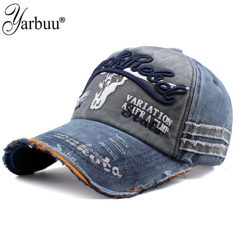 [YARBUU] Brand baseball cap Dad Casquette Women Snapback Caps Bone Hats For Men Fashion Vintage Hat Gorras Letter Cotton Caps