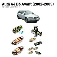 Led interior lights For Audi a4 b6 avant 2002-2005  21pc Led Lights For Cars lighting kit automotive bulbs Canbus цена в Москве и Питере
