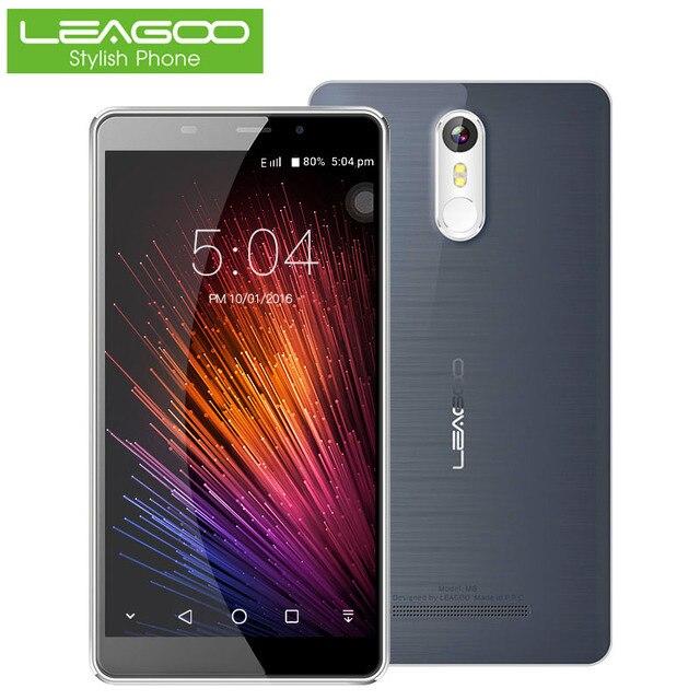 """Leagoo M8 смартфон 5.7 """"HD IPS 1280*720 Android 6.0 4 ядра 2 ГБ Оперативная память + 16 ГБ Встроенная память 3500 мАч 13.0MP отпечатков пальцев Touch Android телефоны"""