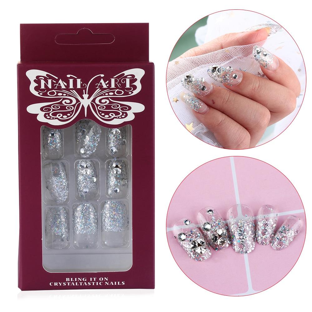 Beauty & Health Cheap Price 1 Bag Blue Universal Nail Clay Reusable Adhesive False Nails Chip Manicure Gel Polish Nail Art Salon Tools Diy Nail Tips Sticky Fashionable Patterns